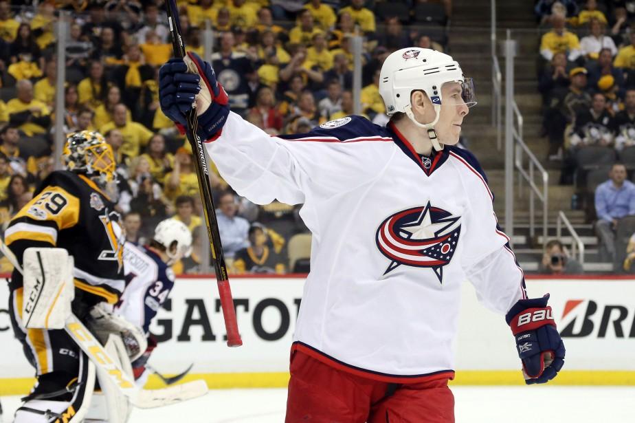 Matt Calvert... (Photo Charles LeClaire, USA TODAY Sports)
