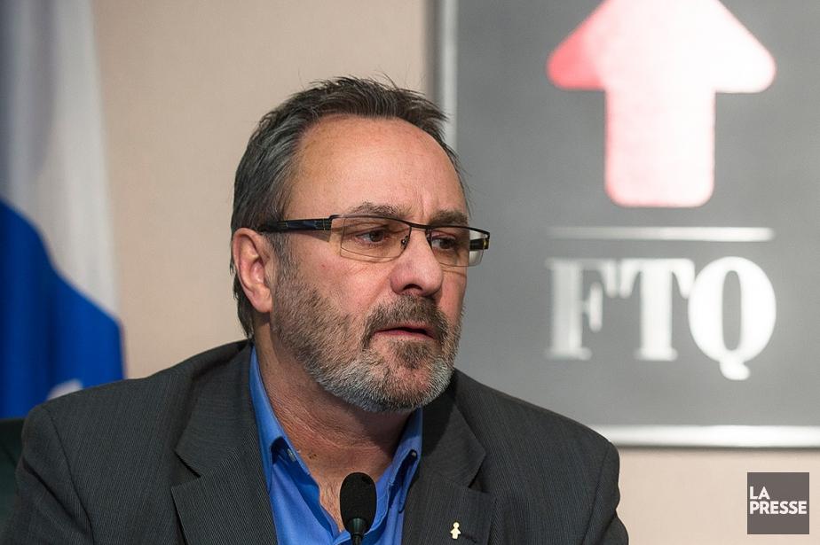 Le président de la FTQ, Daniel Boyer.... (Archives, La Presse)