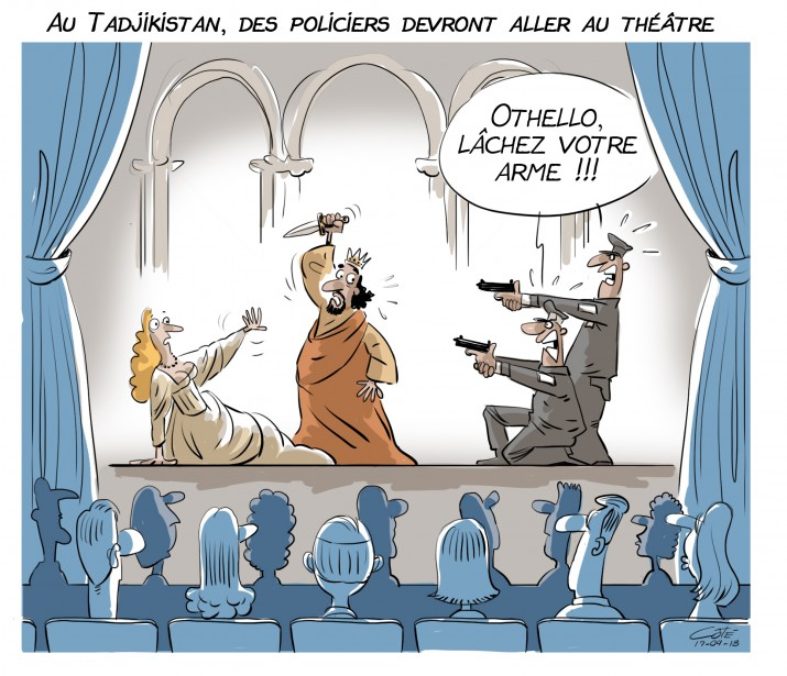 Caricature du 18 avril | 18 avril 2017