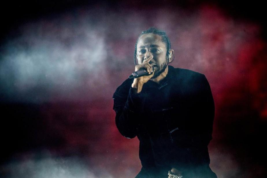 Dimanche soir, Kendrick Lamar était la tête d'affiche... (PHOTO AMY HARRIS, INVISION/ASSOCIATED PRESS)