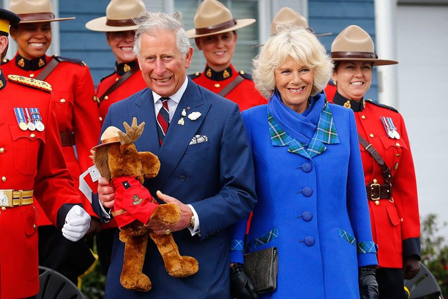 Le dernier séjour du prince Charles et de... (Mark Blinch, REUTERS)