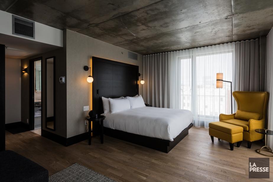Une chambre de l'hôtel William Gray à Montréal.... (Photo Edouard Plante-Fréchette, La Presse)