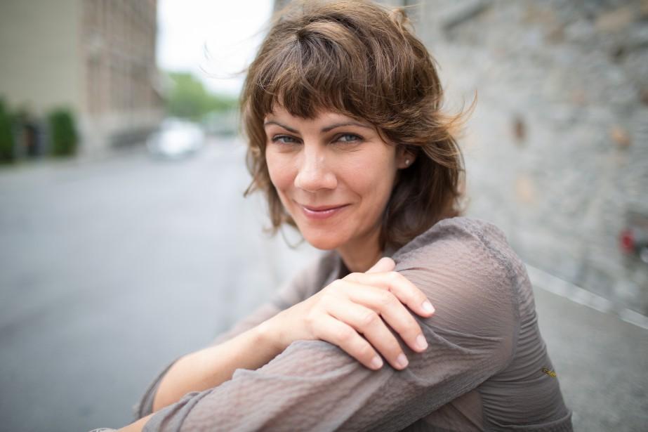 Geneviève Brouillette a fait ses premières ballades en auto dans... | 2017-04-18 00:00:00.000