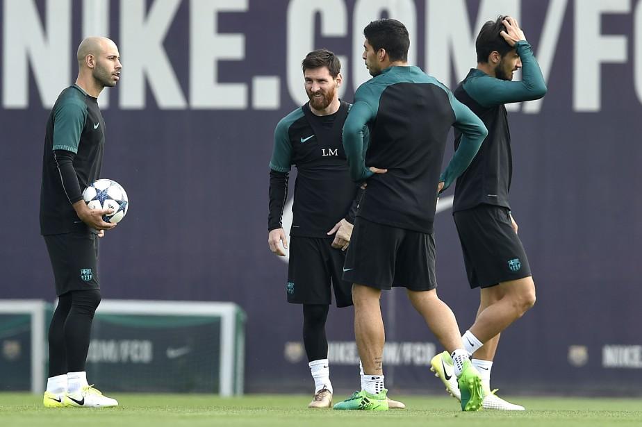Le FC Barcelone devra surmonter un déficit de... (Photo Lluis Gene, AFP)
