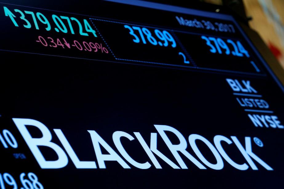 Le bénéfice net de BlackRock au premier trimestre... (REUTERS)