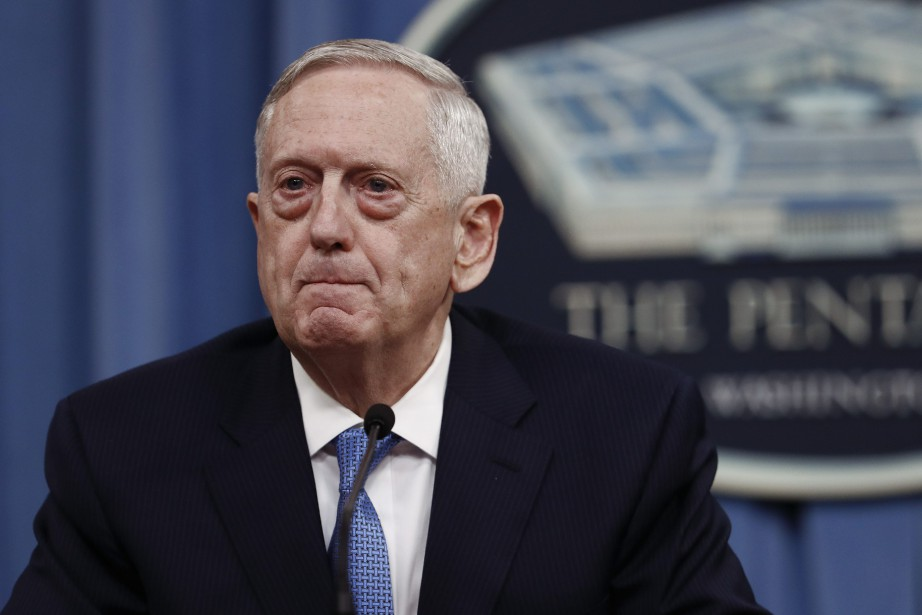 Jim Mattis... (Photo Carolyn Kaster, ARCHIVES Associated Press)