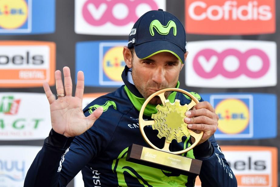 Alejandro Valverde... (Photo Philippe Lopez, AFP)