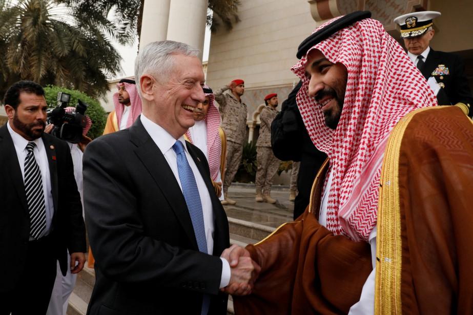 James Mattis a rencontré mercredi son homologue saoudien,... (REUTERS)