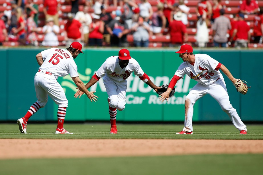 Le Cardinals ont pu compléter un balayage de... (Photo Scott Kan, USA TODAY Sports)