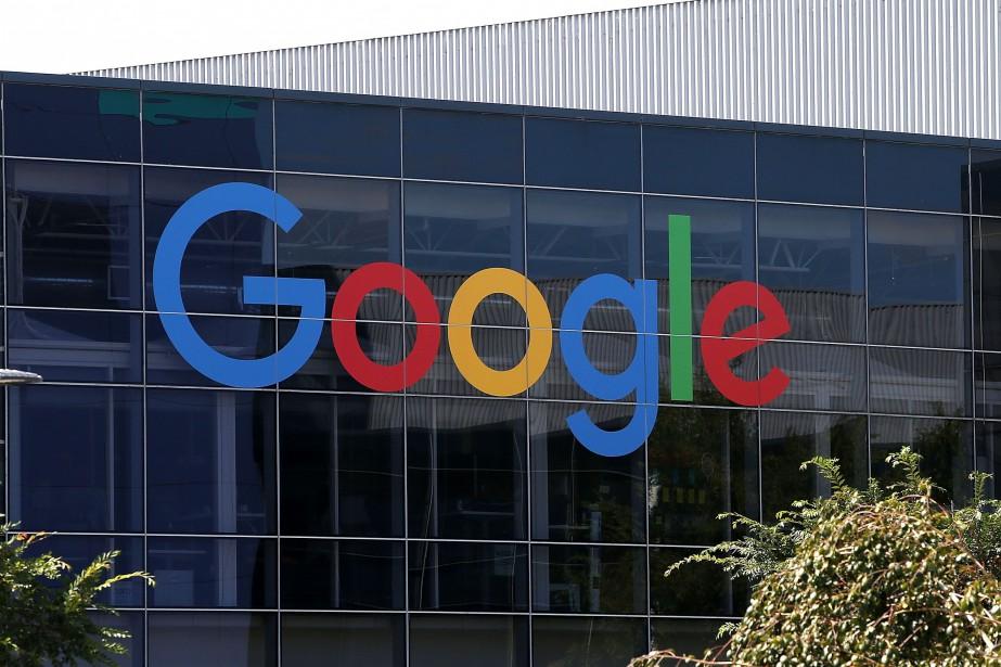 Le géant technologique Google fait partie des signataires... (PHOTO ARCHIVES AFP/GETTY IMAGES)