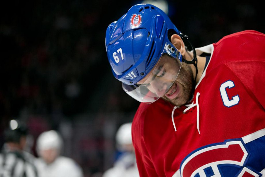 Max Pacioretty n'a pas marqué un seul but depuis le... (Photo David Boily, La Presse)
