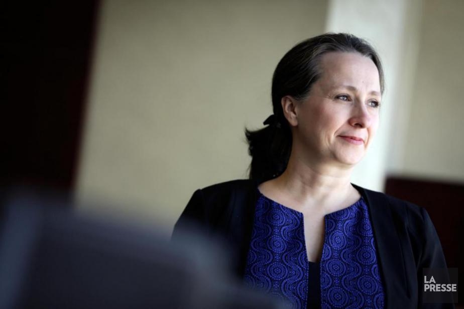 Lise Estelle Brault est directrice principale de l'encadrement... (Photo Olivier Jean, La Presse)