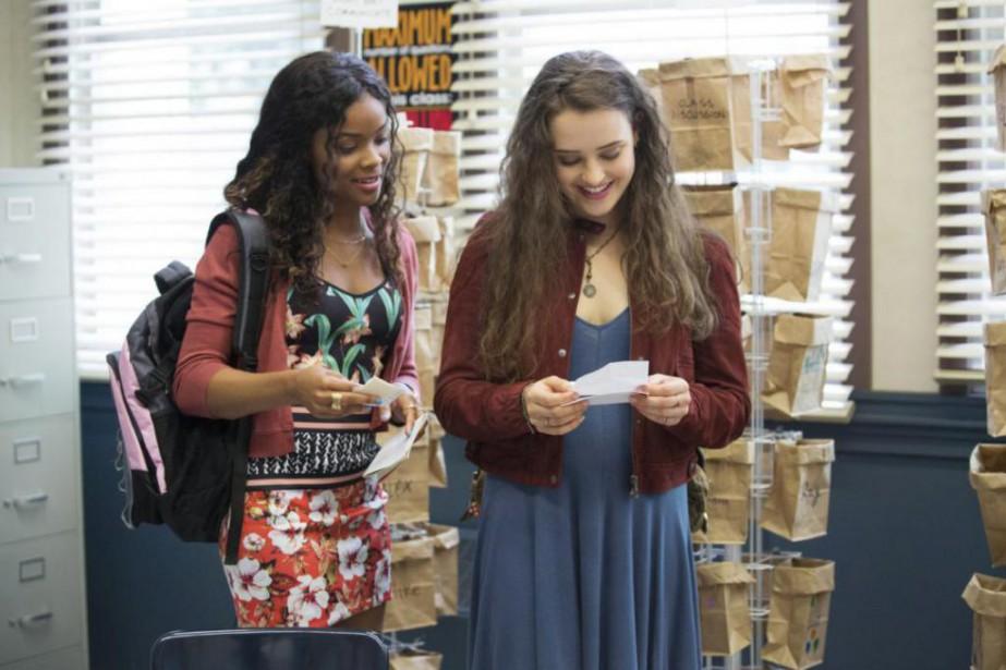 Alisha Boe et Katherine Langford... (Photo Beth Dubber, fournie par Netflix)