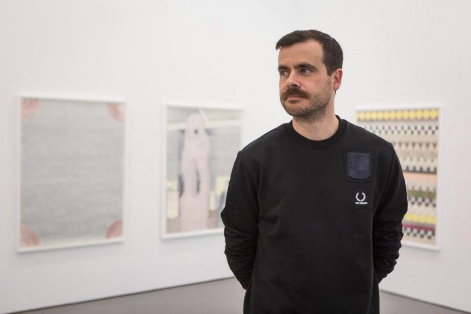 Derek Sullivan présente à la galerie antoine ertaskiran... (PHOTO SIMON GIROUX, LA PRESSE)