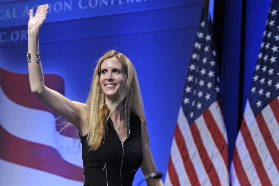 Ann Coulter... (PHOTO ARCHIVES AP)