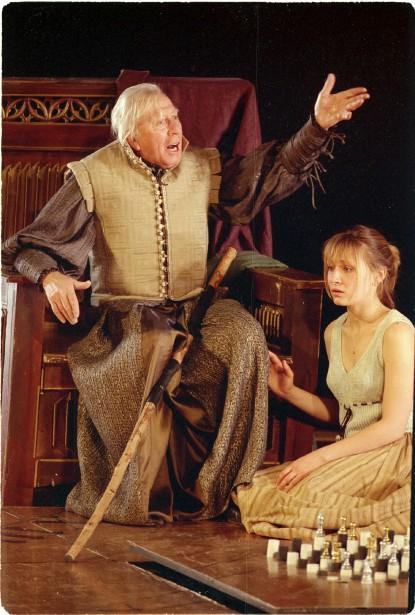 Paul Hébert interprétant Prospero dans  La tempête ,deShakespeare, mise en scène par Robert Lepage. | 20 avril 2017