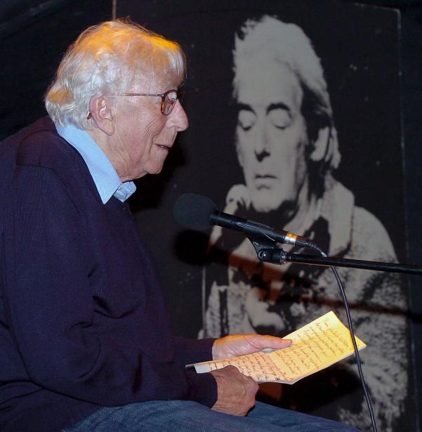 Paul Hébert en 2008, lors d'une soirée homage à Félix Leclerc au Cercle, à Québec. | 20 avril 2017
