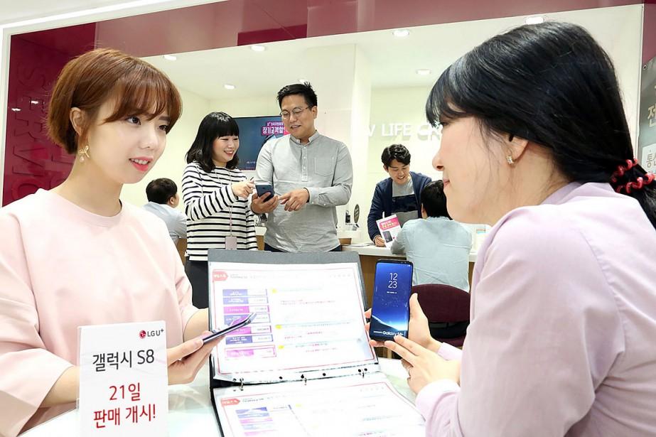 En Corée du Sud, plus d'un million d'exemplaires... (AFP)