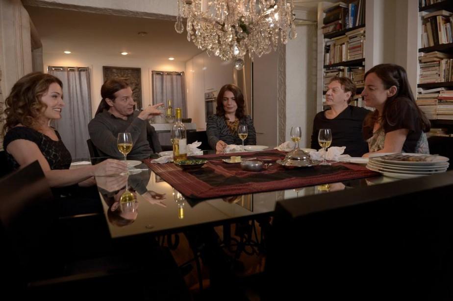Sophie Bourgeois, David La Haye, Arsinée Khanjian, Marc... (Photo fournie par K-Films Amérique)