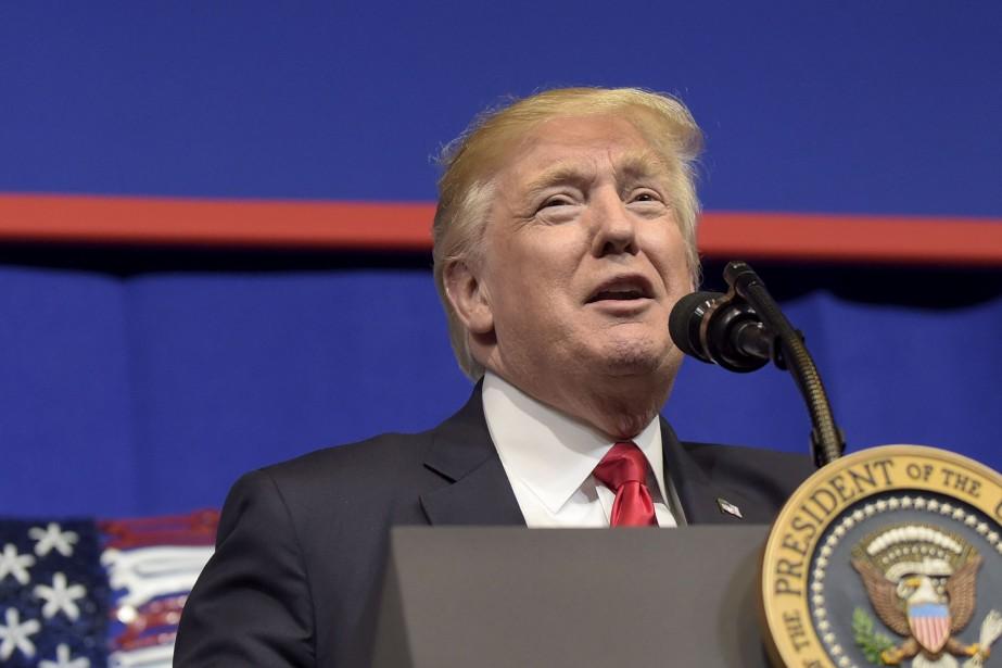 Donald Trumpa prédit vendredi que l'attentat perpétré au... (Photo archives AP)