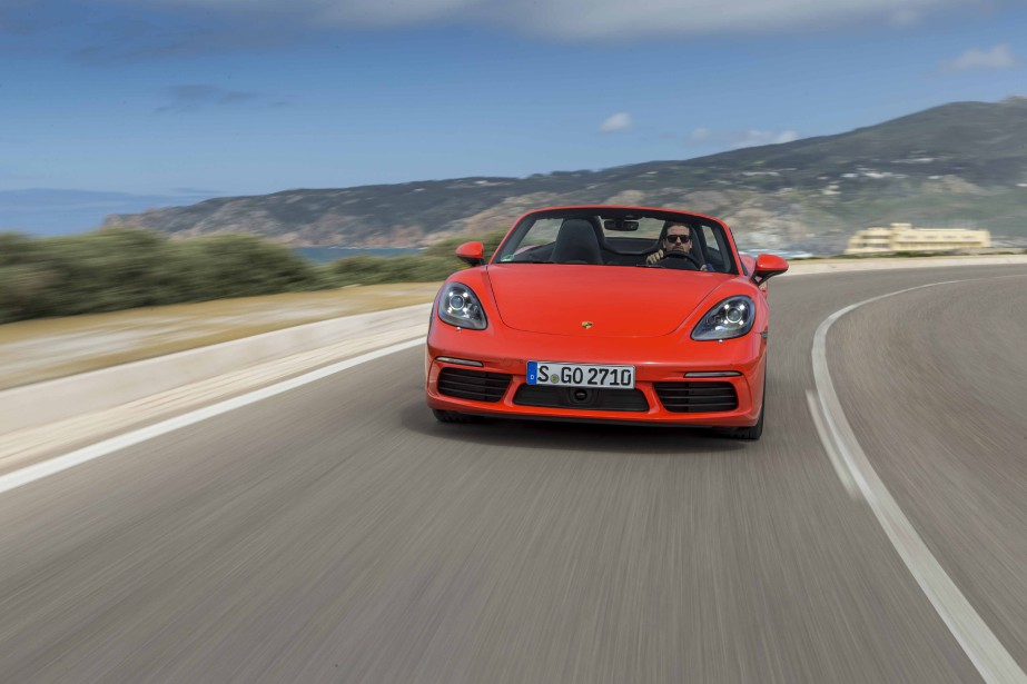Au risque de déplaire aux puristes, la boîte... (Photo : Porsche)
