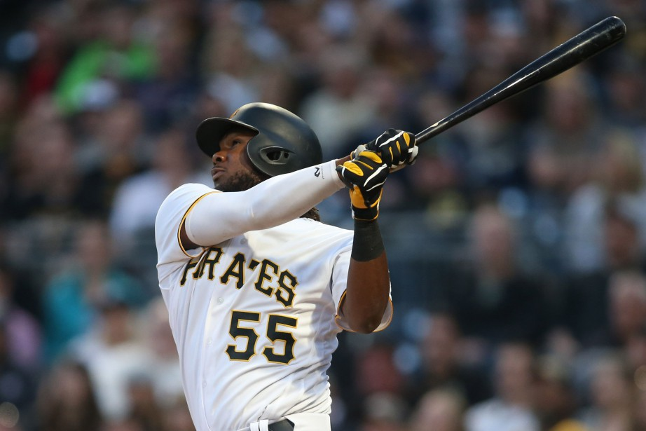 Josh Bell (55)... (Photo Charles LeClaire, USA TODAY Sports)
