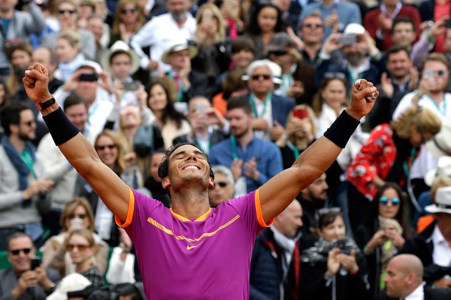 Rafael Nadal a remporté le 70etitre de sa... (Photo Claude Paris, ASSOCIATED PRESS)