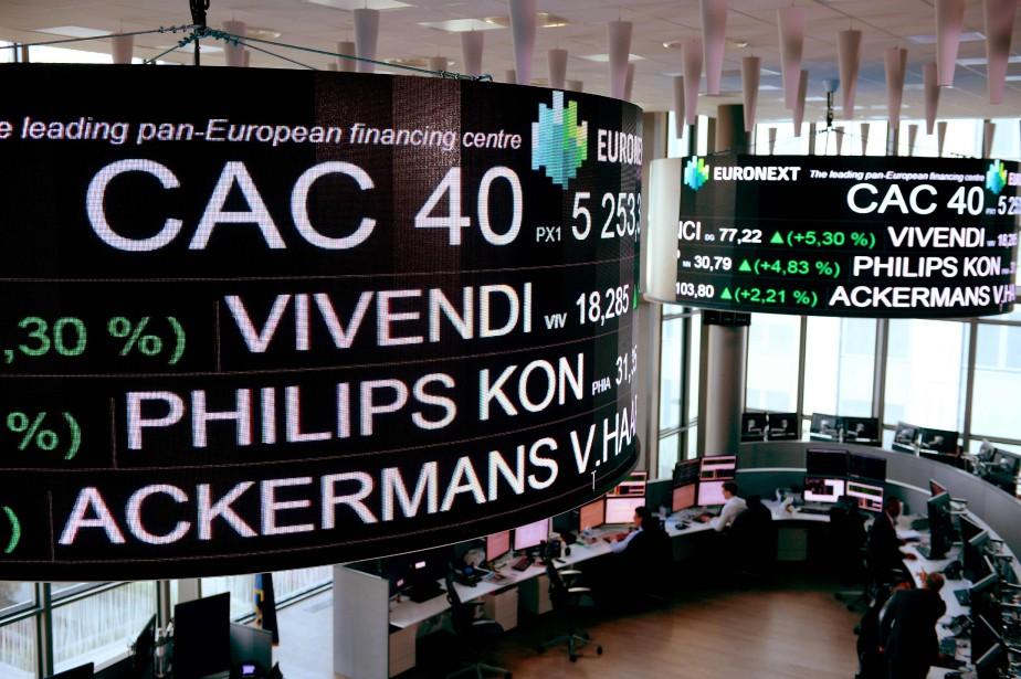 À la clôture, la Bourse de Paris a... (AFP)