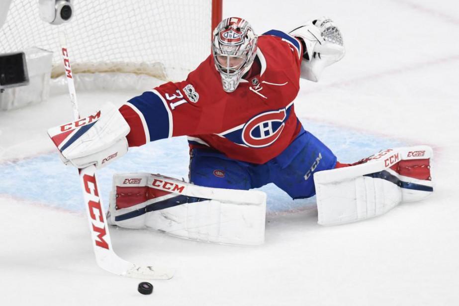 L'équipementier CCM habille notamment les gardiens du Canadien,... (Photo Bernard Brault, La Presse)