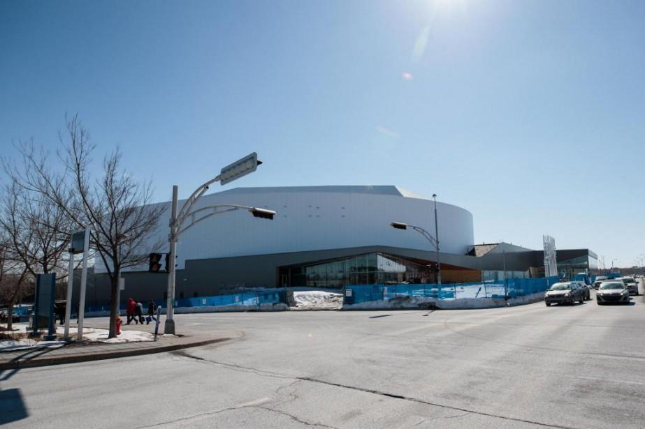 La Place Bell, à Laval, sera inaugurée à... (PHOTO HUGO-SÉBASTIEN AUBERT, LA PRESSE)