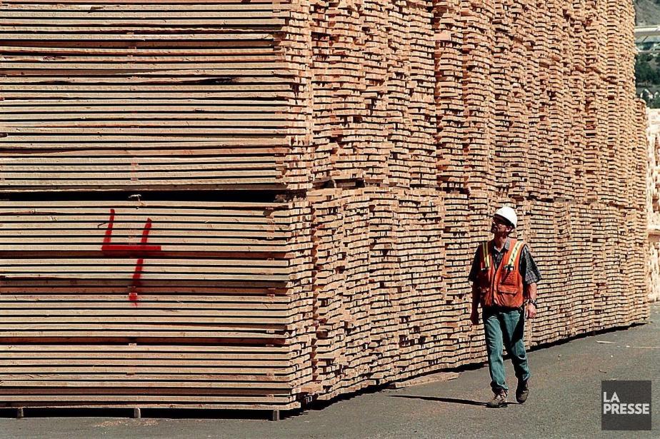 Le conflit du bois d'oeuvre, le cinquième depuis 1982,... (ARCHIVES LA PRESSE)