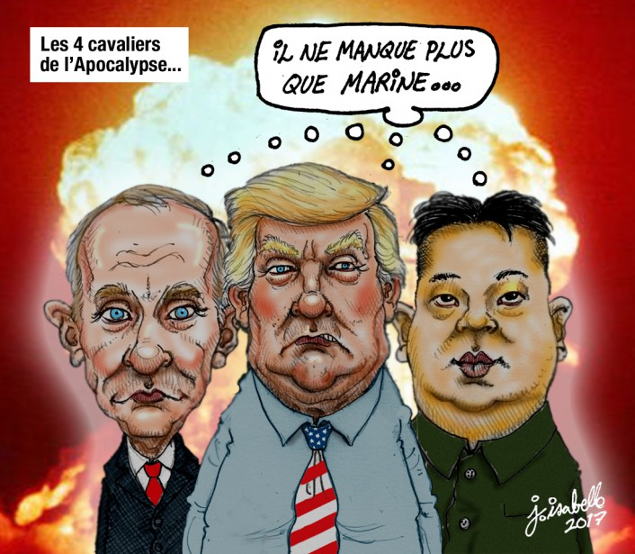 Caricature du 25 avril | 25 avril 2017