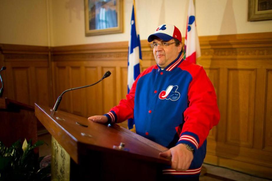 Denis Codere, maire de Montréal... (Photo André Pichette, Archives La Presse)