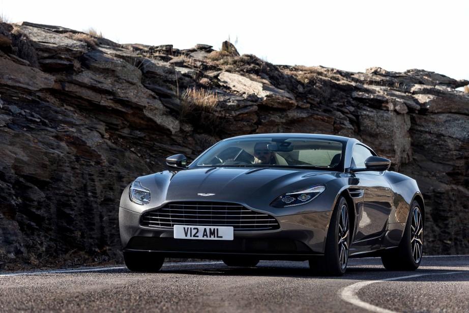 Aston Martin DB11 (Toutes les photos fournies par les constructeurs)