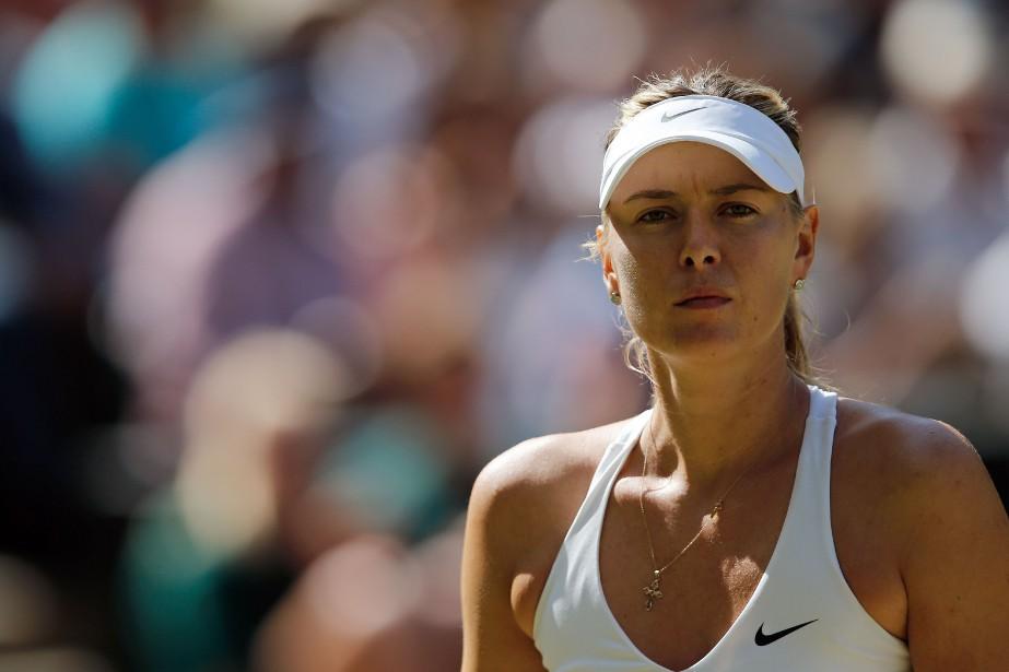 Maria Sharapova... (PHOTO ADRIAN DENNIS, ARCHIVES AFP)