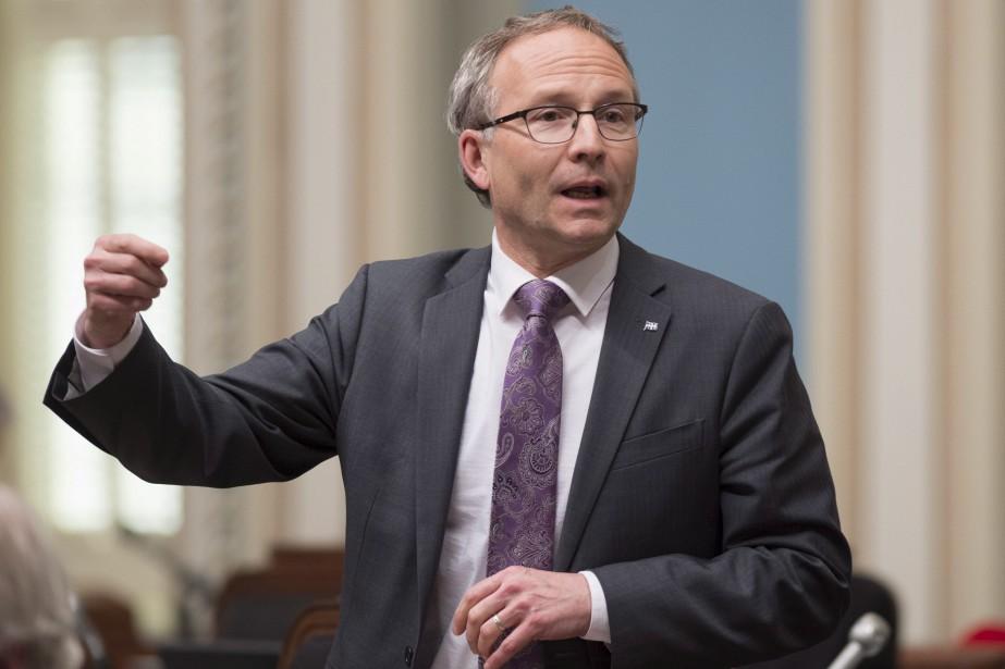 Le ministre de la Sécurité publique, Martin Coiteux,... (Photo Jacques Boissinot, PC)