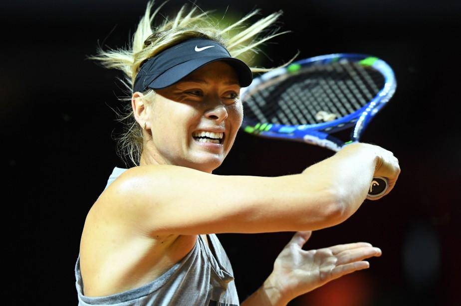 Maria Sharapova... (Photo Bernd Weissbrod, AFP)