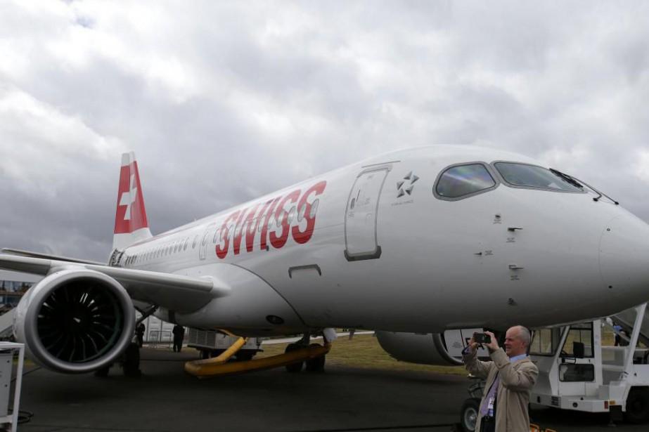 Swiss sera le premier transporteur à exploiter le... (PhotoDaniel Leal-Olivas, archives Agence France-Presse)