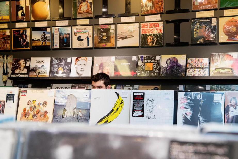 Située sur l'avenue du Mont-Royal, la boutique Aux... (PHOTO ALAIN ROBERGE, LA PRESSE)