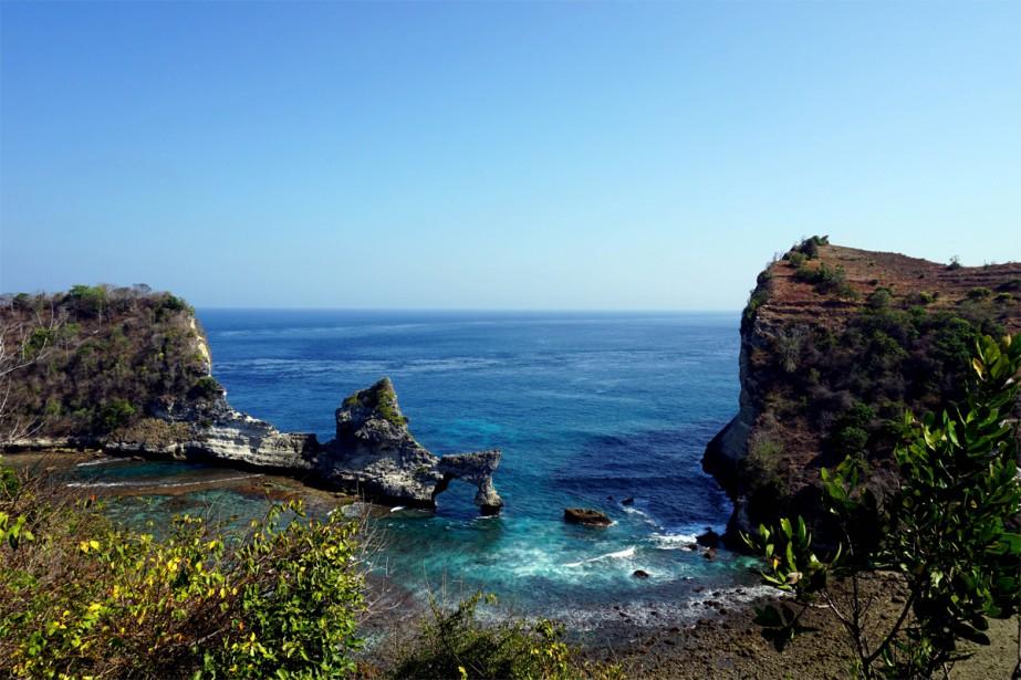 L'île indonésienne de Nusa Penida n'est pas facile... (PHOTO AUDREY RUEL-MANSEAU, COLLABORATION SPÉCIALE)