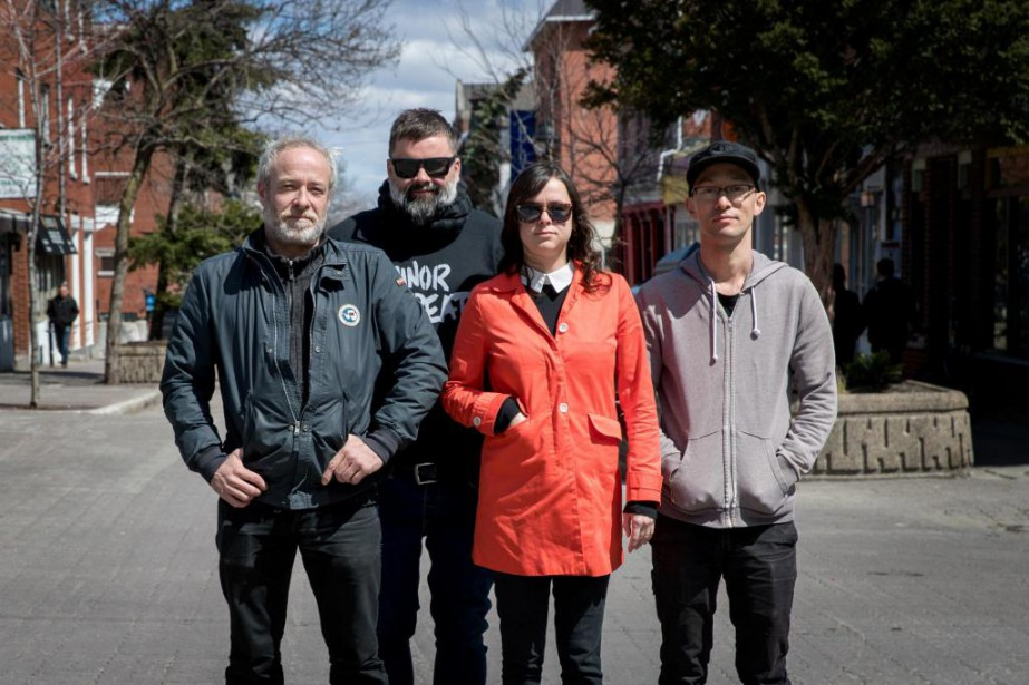 Les copropriétaires du restaurant Suzanne, Olivier Farley et... (PHOTO MARCO CAMPANOZZI, LA PRESSE)