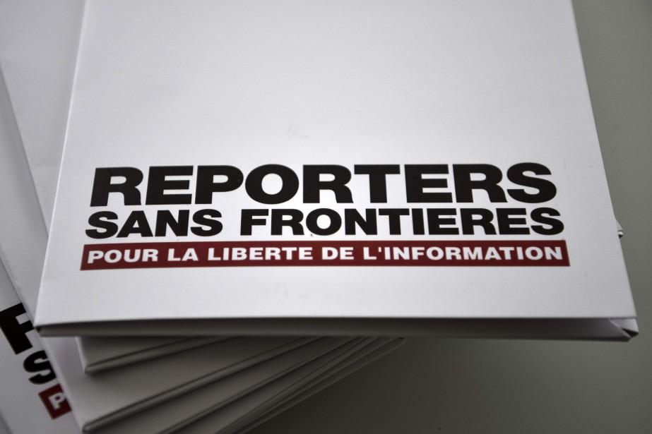 En présentant son étude, RSF a dit que... (PHOTO PHILIPPE LOPEZ, AFP)