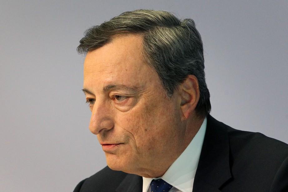 Mario Draghi, président de la BCE.... (AFP)