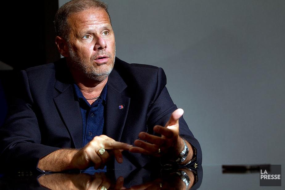 Yves Francoeur, président de la Fraternité des policiers... (Archives, La Presse)
