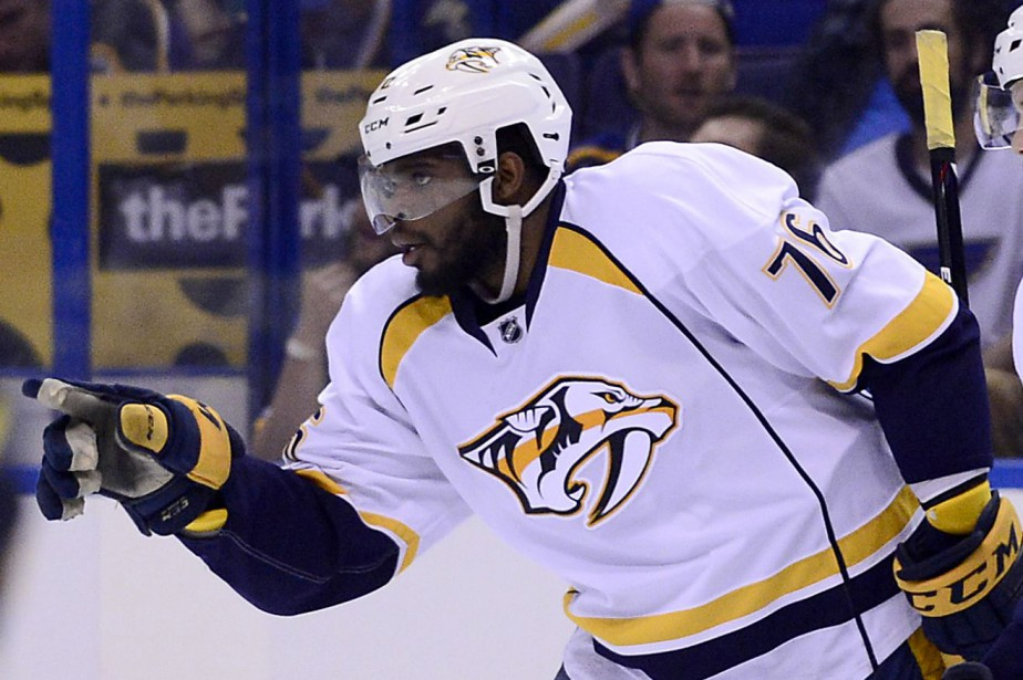 P.K. Subban a inscrit un but et deux aides... (Photo Jeff Curry, USA Today Sports)