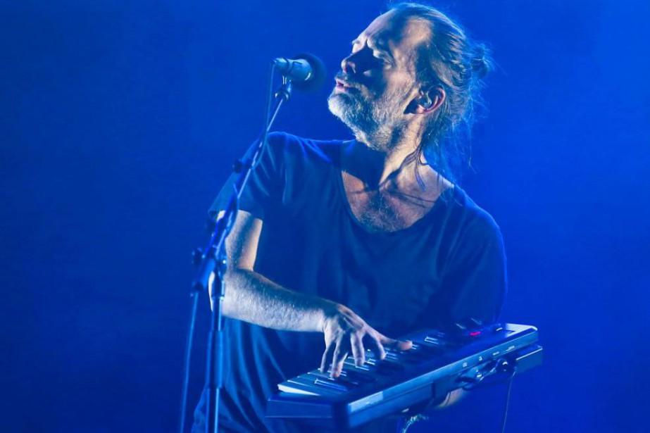 En dépit des critiques, Thom Yorke se produira... (photoJack Plunkett, archives associated press)