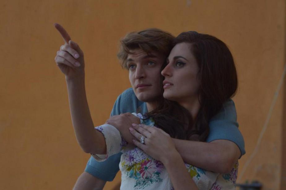 Niels Schneider et Sveva Alviti dans Dalida de... (Les Films Séville)