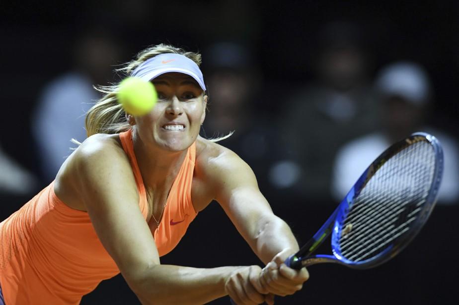 Maria Sharapovan'a toujours pas perdu un set à... (Photo Bernd Weissbrod, AP)