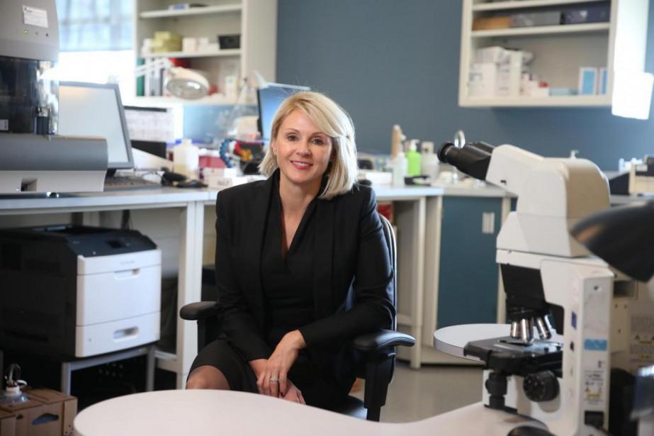 Geneviève Biron, présidente et chef de la direction... (Photo Martin Chamberland, La Presse)