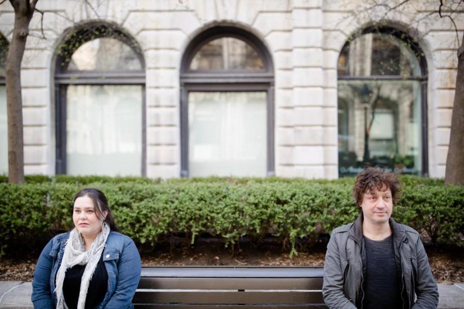Les slameurs Amélie Provost et Ivy participeront à... (Photo Ninon Pednault, La Presse)